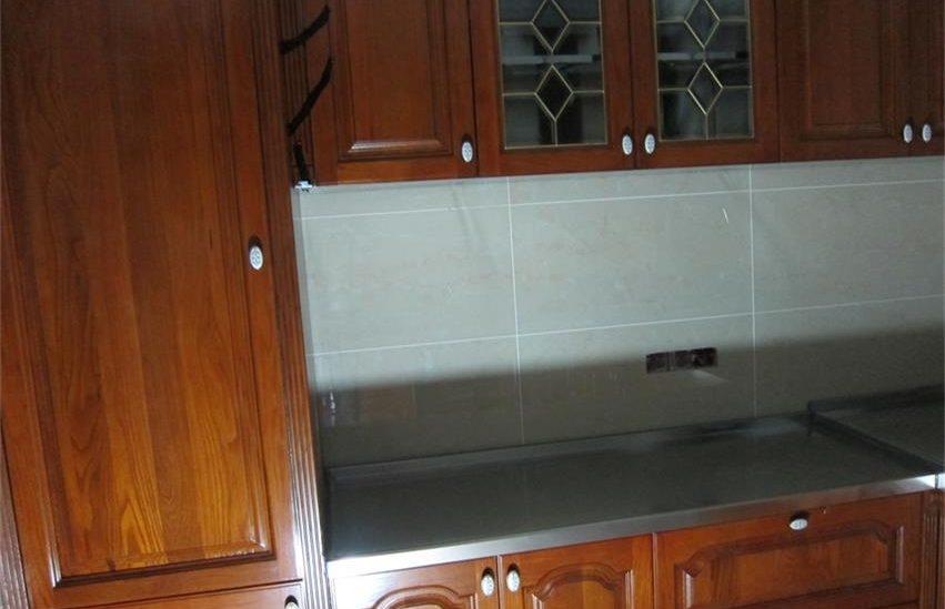 桂林澳洲花园客户不锈钢橱柜