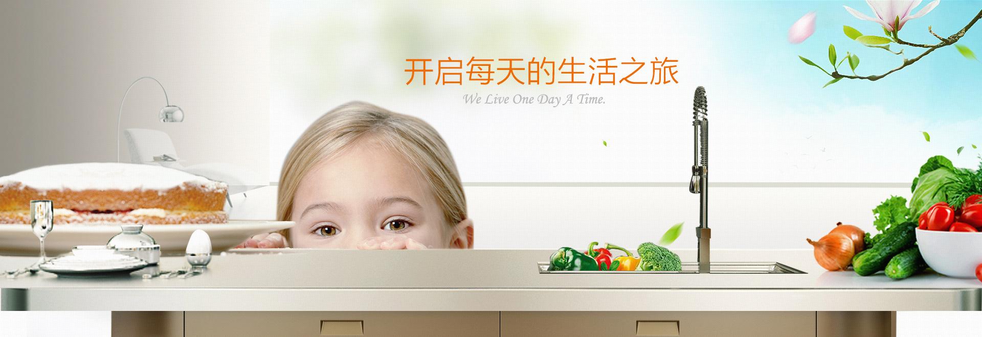 健康环保的紫韩不锈钢橱柜